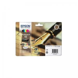 Epson 16 Ink Cart M/pack Pk4 T16264010