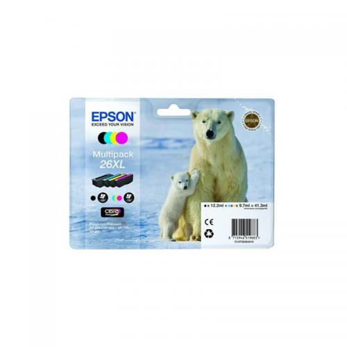 Epson 26XL Ink Cart M/pack Pk4 T26364010