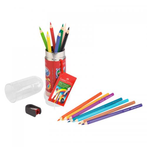 Faber-Castell Colour Grip Painting & Drawing Set Rocket