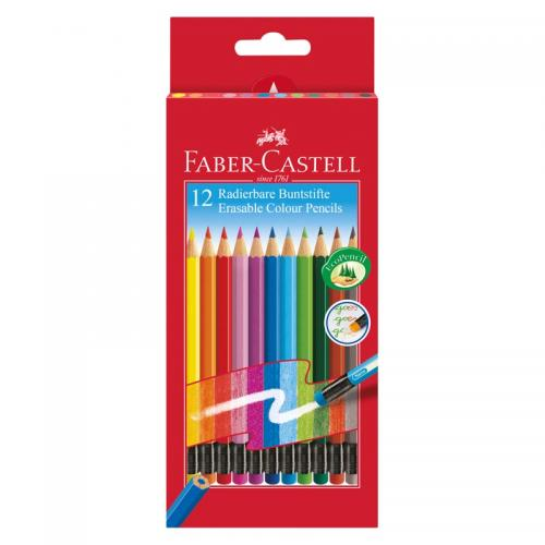 Faber-Castell Erasable Colour Pencils