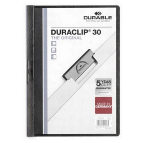 Durable Duraclip Folders - 3mm (approx 30 sheets)