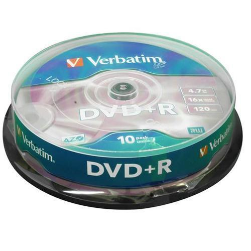 Verbatim Recordable DVD+R