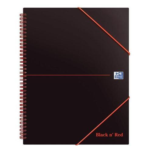 Oxford Black n'Red Meeting Book