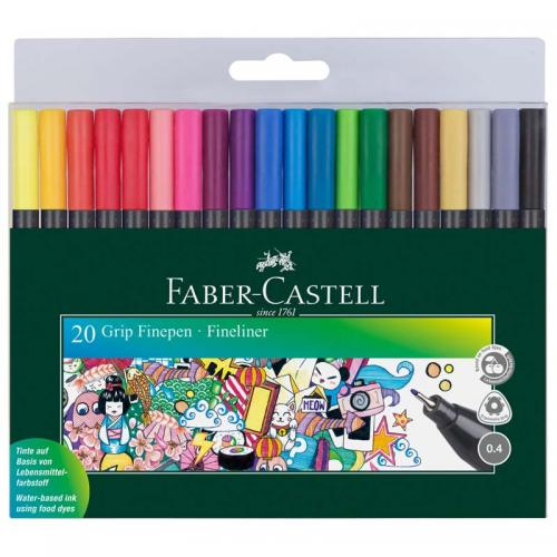 Faber-Castell Grip Finepen Colour Fineliners