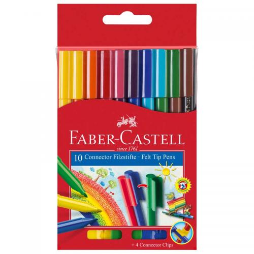 Faber-Castell Connector Pens (Box of 10)