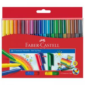 Faber-Castell Connector Pens (Box of 20)