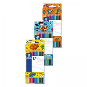 Staedtler Comic Range Coloured Pencils (Pkd 12)
