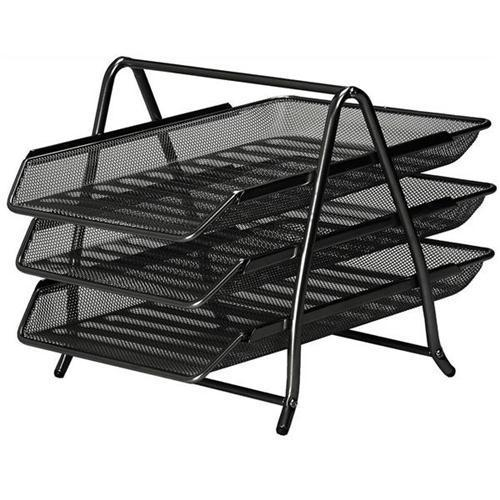 Wire Mesh Three Tier Letter Tray
