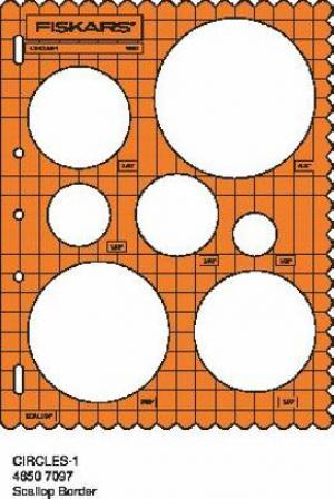 Fiskars ShapeCutter Circle Template