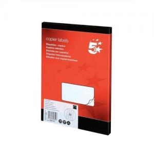 5 Star Office Laser Multipurpose Labels