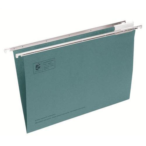 5 Star Office Clenched Bar Foolscap Suspension Files (Pkd 50)