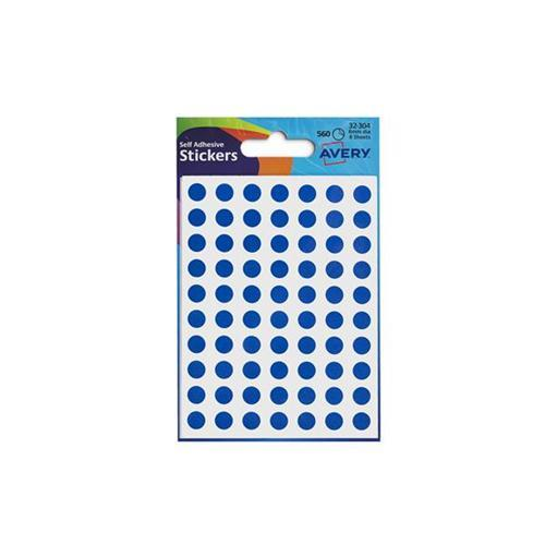 Avery Self Adhesive Stickers - Circle (560 labels per pack)