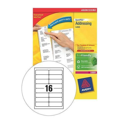 Avery QuickPEEL Laser Address Labels (40 sheets pack)