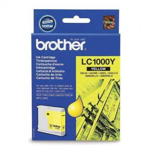 Brother Cart Inkjet Yellow LC1000Y
