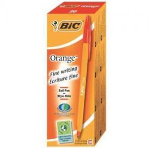 BIC Orange Original Fine Ball Pen (Pkd 20)