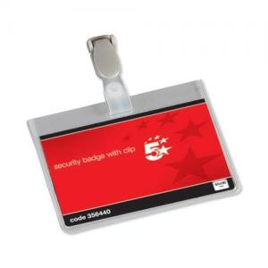 5 Star Office Security Name Badges (Pkd 25)