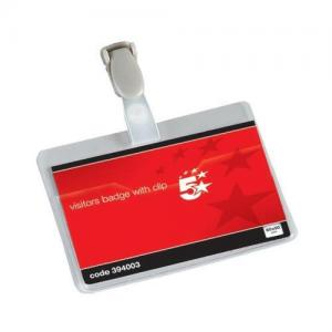 5 Star Office Visitors Name Badges (Pkd 25)