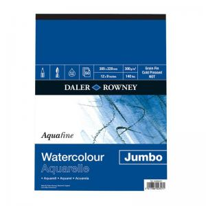 Aquafine Watercolour Jumbo Pad 300gsm