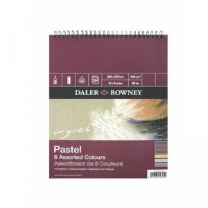 Ingres Assorted Shades Pastel Pad 160gsm