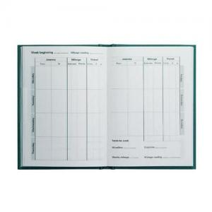 Collins Vehicle Mileage Log Record Book