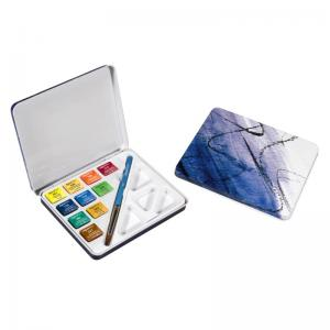 Daler-Rowney Aquafine Watercolour Mini Travel Set