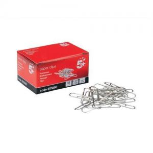 5 Star Office Lipped Paper Clips (Pkd 100)