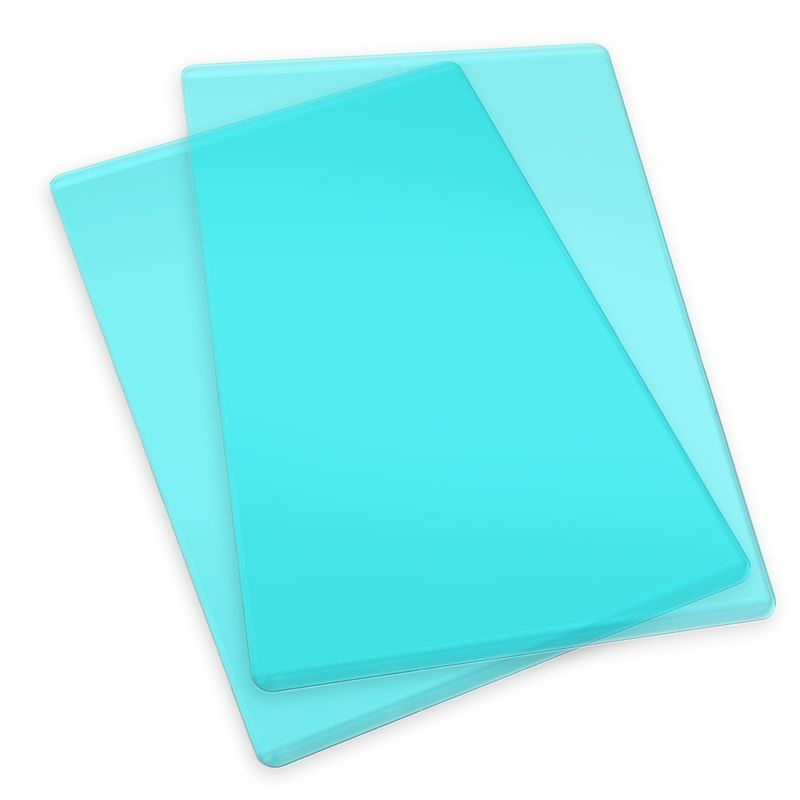 Sizzix Standard Cutting Pads - 1 Pair (Mint)