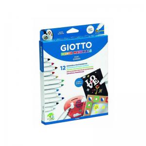 Giotto Décor Materials Paint Marker (12 Pack)