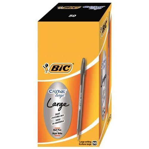 BIC Cristal Large Ball Pen (Pkd 50)