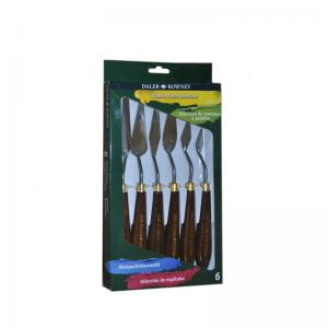 Daler-Rowney Assorted Painting Knives set (Pack 6)