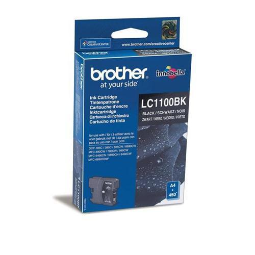 Brother LC1100BK Inkjet Cart Black
