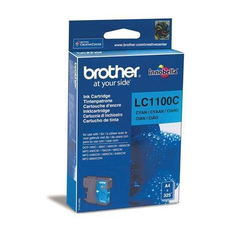 Brother LC1100C Inkjet Cartridge Cyan