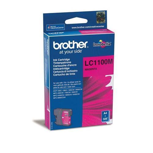 Brother LC1100M Inkjet Cart Magenta