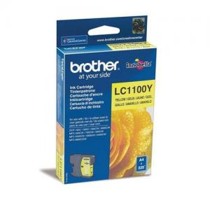 Brother LC1100Y Inkjet Cartridge Yellow