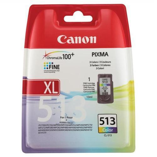 Canon CL-513 Inkjet Cart Col 2971B001