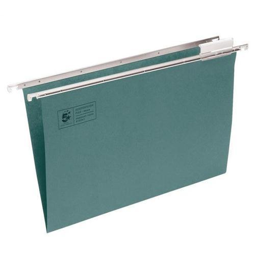 5 Star Office Clenched Bar A4 Suspension Files (Pkd 50)