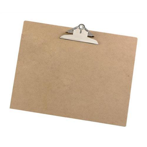 5 Star Office Hardboard Clipboard