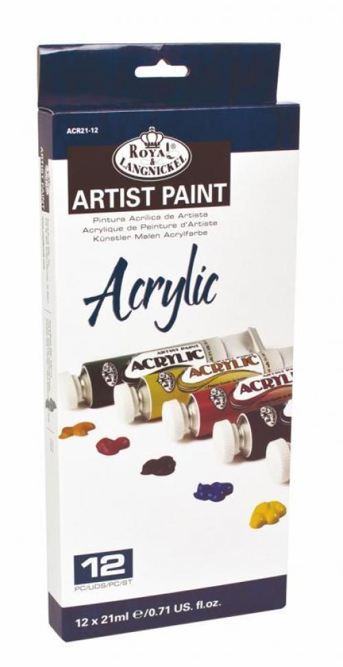 Royal & Langnickel Acrylic Artist Paint Pack