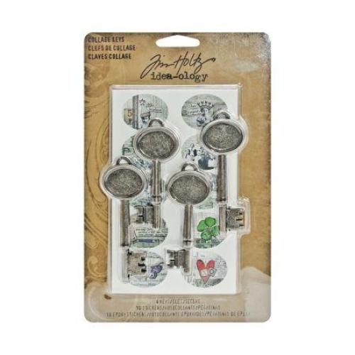 Tim Holtz Collage Keys
