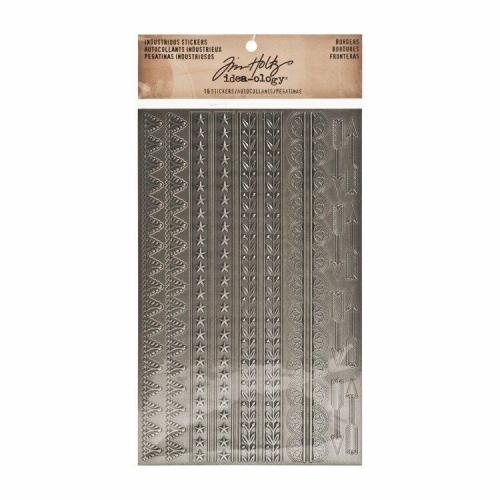 Tim Holtz Industrious Stickers, Borders