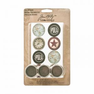 Tim Holtz Custom Knobs