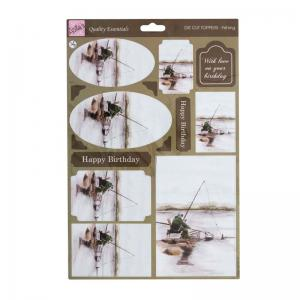 Anita's A4 Die-cut Toppers - Fishing