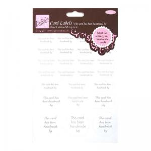 Anita's Card Labels (2pcs) - Handmade By
