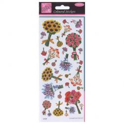 Anita's Coloured Stickers - Country Bunches