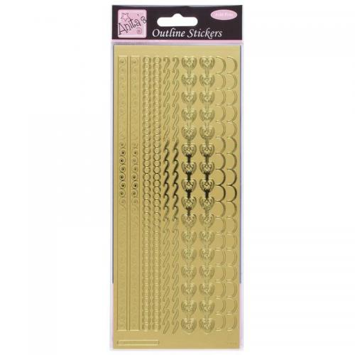 Anita's Outline Stickers - Decorative Borders