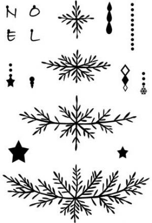 Card-io Clear Stamps - Build-a-Tree Clear Stamp Set