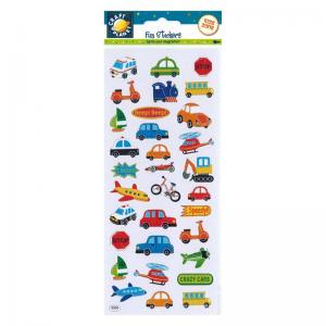 Craft Planet Fun Stickers - Beep Beep