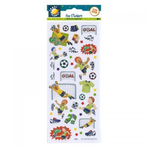 Craft Planet Fun Stickers - Football Match