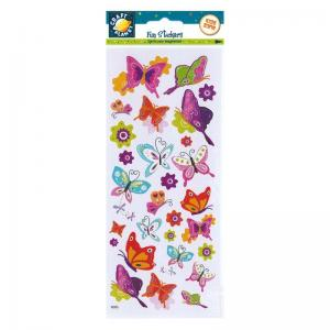 Craft Planet Fun Stickers - Flutterby