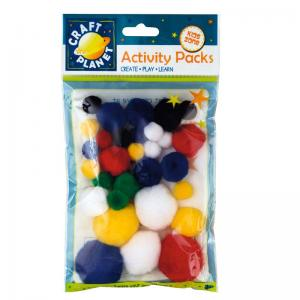 Craft Planet Pompoms (30pk)